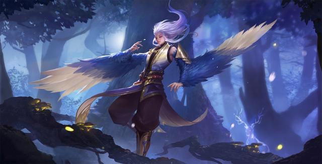 王者荣耀新英雄云中君 会飞的英雄