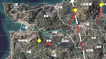 和平精英海岛2.0物资密室位置坐标介绍
