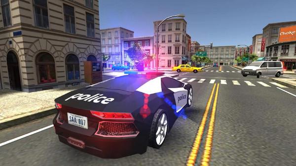 真实警车模拟器