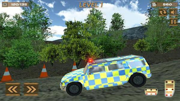 极端警察汽车