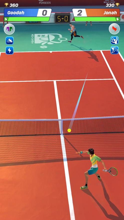 网球传说3D运动