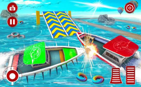 轮船碰撞大作战