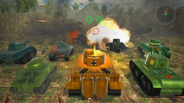 王牌坦克大战3D