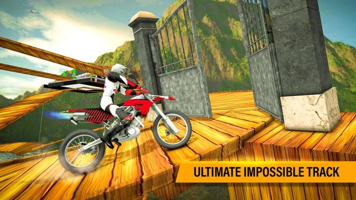 不可能的摩托车
