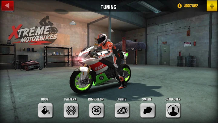 xtreme motorbikes无限金币