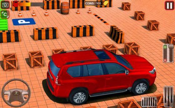最佳普拉多停车场3D