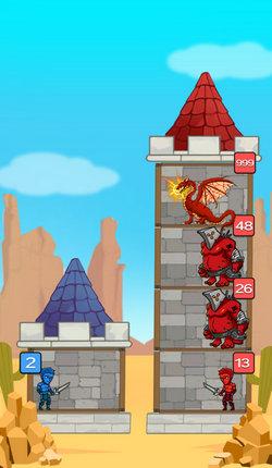 站在塔上的男人