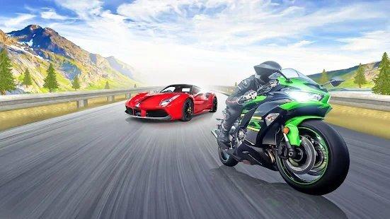 交通摩托赛车2021